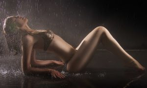 London Escorts Sexy Under The Rain